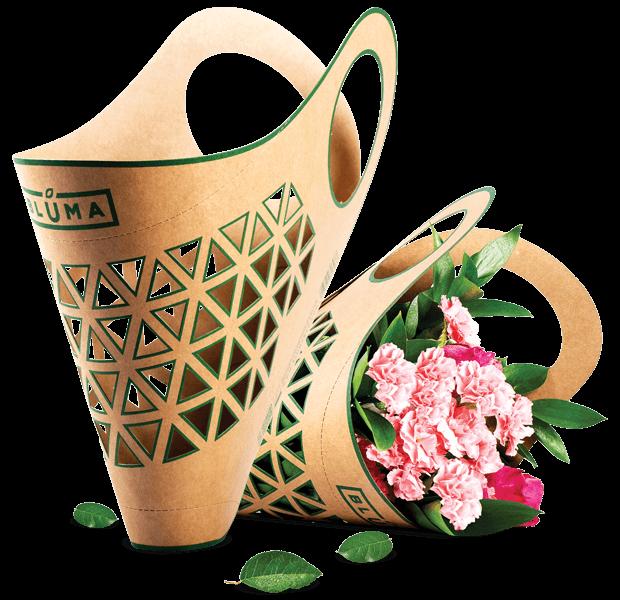 Bluma Open - wygodny sposób na przenoszenie kwiatów