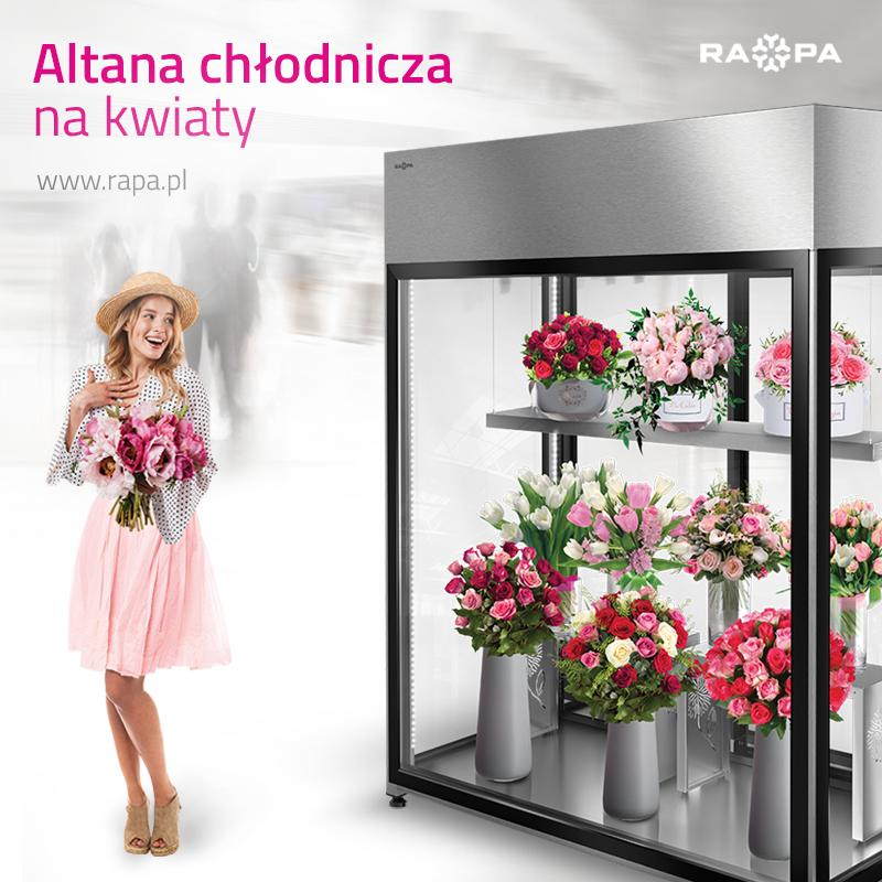 Altana chłodnicza to wiele korzyści dla kwiaciarni i jej klientów.